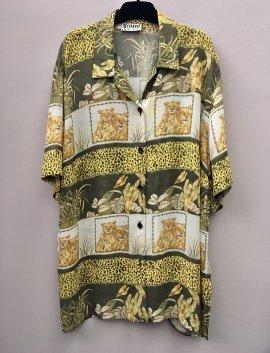 90s pattern shirt, Gr. XL