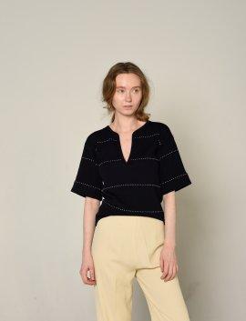 YSL Strick Shirt, Gr.S